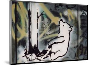 Pooh bear-trap by Banksy
