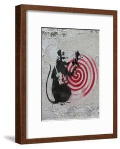 Rat radar by Banksy