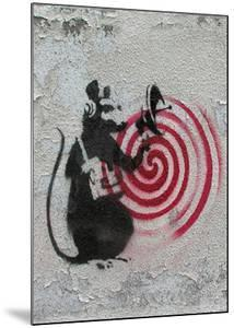 Rat radar by Banksy