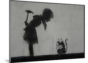 Rat by Banksy