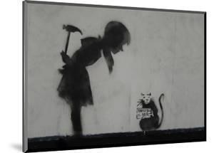 Rat by Banksy