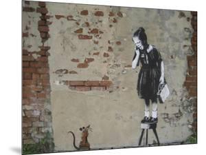 Ratgirl by Banksy