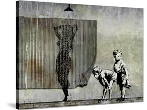 Shower Peepers by Banksy