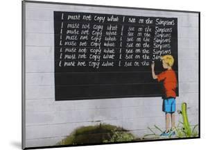 Simpsons by Banksy