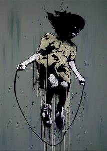 Skipping by Banksy