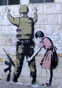 Soldier Searched by a Girl by Banksy