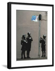 Tesco Flag by Banksy