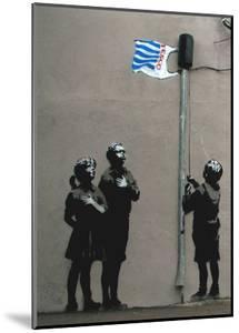 Tesco Flag by Banksy