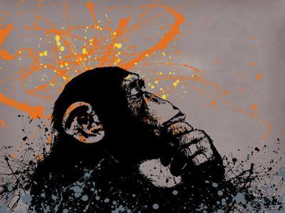 Thinker Monkey by Banksy