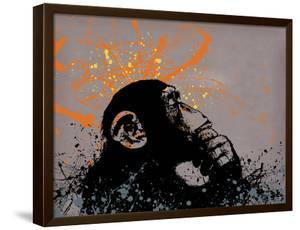 Thinker Monkey by Banksy