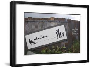 Un-F**k the System by Banksy