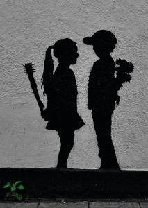 War Children by Banksy