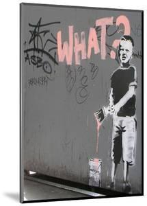 What? by Banksy