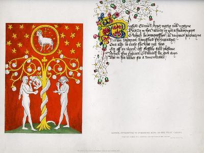 Banner and Poem, C15th Century--Giclee Print