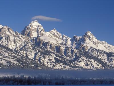 Banner Cloud on Summit of Grand Teton-Scott T^ Smith-Photographic Print
