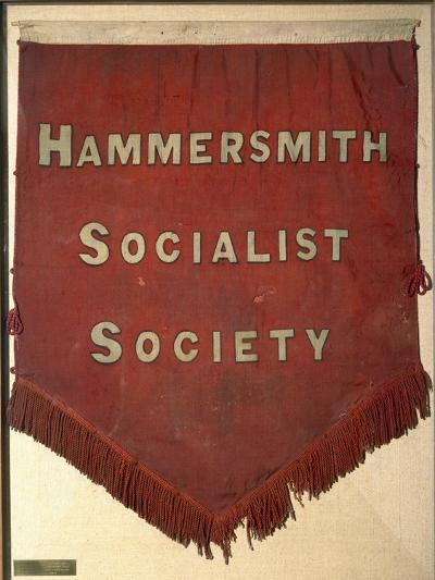 Banner of the Hammersmith Socialist Society-William Morris-Giclee Print
