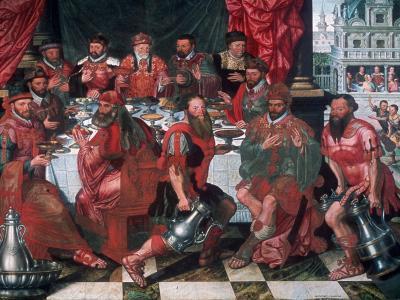 Banquet, 1574-Antoon Claeissens-Giclee Print