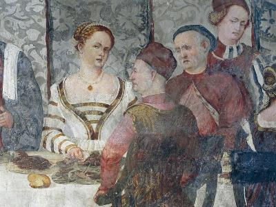 Banquet in Honor of King Christian of Denmark, Attributed to Marcello Fogolino, Detail--Giclee Print