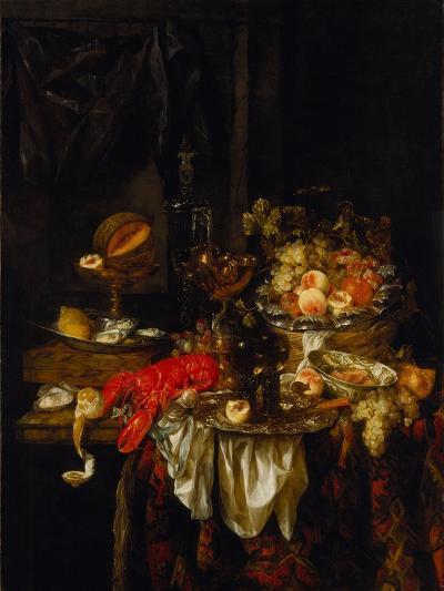 Banquet Still Life, 1667-Abraham Hendricksz van Beijeren-Giclee Print