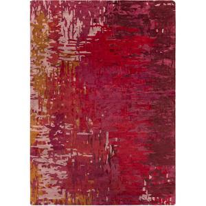 Banshee Repainted Area Rug - Cherry/Hot Pink 5' x 8'