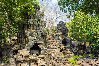Banteay Chhmar, Ankorian-Era Temple Ruins, Banteay Meanchey Province, Cambodia, Indochina-Jason Langley-Photographic Print