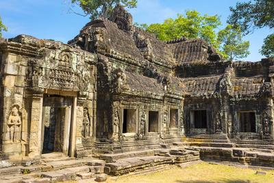 Banteay Kdei Temple, Angkor, UNESCO World Heritage Site, Siem Reap Province, Cambodia-Jason Langley-Photographic Print