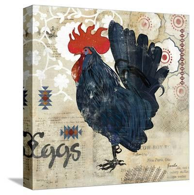 Banty Rooster--Stretched Canvas Print
