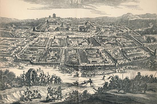 'Banza Lovangri, The Capital of the Former Kingdom of Lovango', c1670, (1903)-Unknown-Giclee Print
