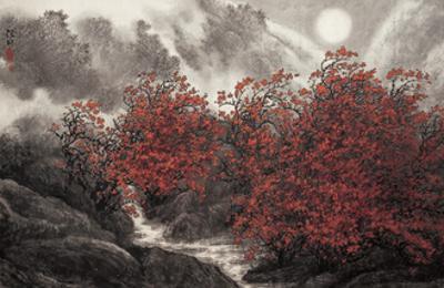 Autumn Mist by Baogui Zhang
