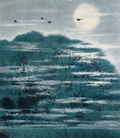 Sky in River