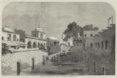 Baolee, or Open Bath, Near Old Delhi--Giclee Print