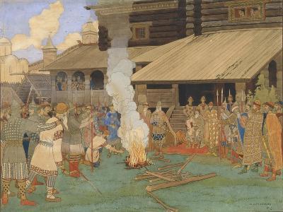 Baptism by Fire-Ivan Yakovlevich Bilibin-Giclee Print