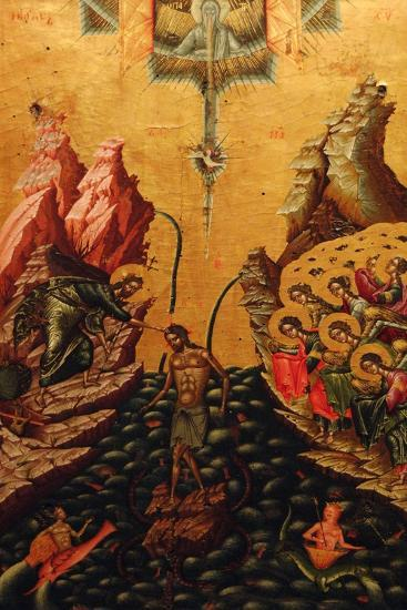 Baptism of Christ, 16th Century--Giclee Print