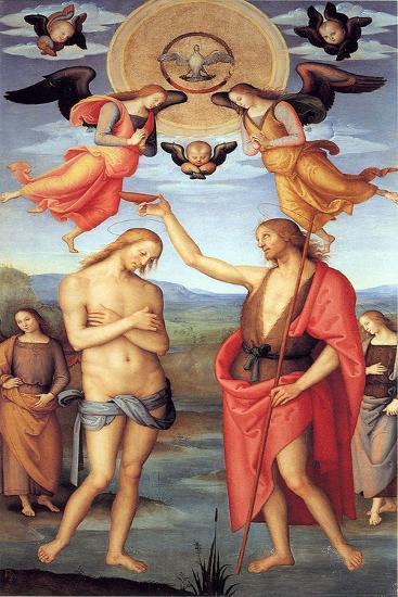 Baptism of Christ, C. 1512-Perugino-Giclee Print