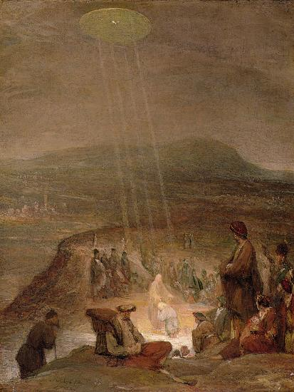 Baptism of Christ, C.1710-Aert de Gelder-Premium Giclee Print
