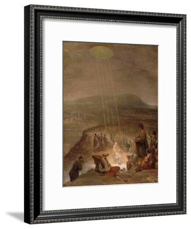 Baptism of Christ, C.1710-Aert de Gelder-Framed Giclee Print