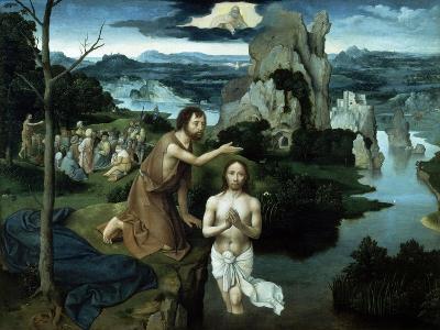 Baptism of Christ, Ca. 1515.-Joachim Patenir-Giclee Print