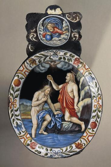 Baptism of Christ, France-O.A. Sickert-Giclee Print