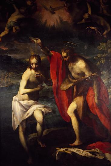 Baptism of Christ-Fancesco Curia-Giclee Print