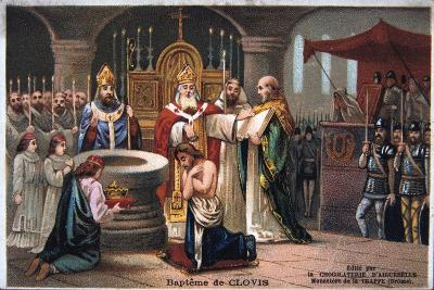 Baptism of Clovis, 496 Ad--Giclee Print