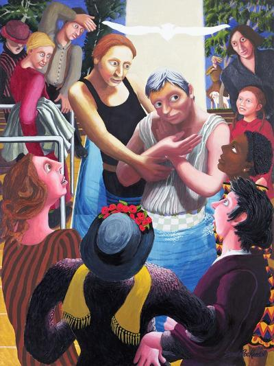 Baptism of Jesus, 2006-Dinah Roe Kendall-Giclee Print