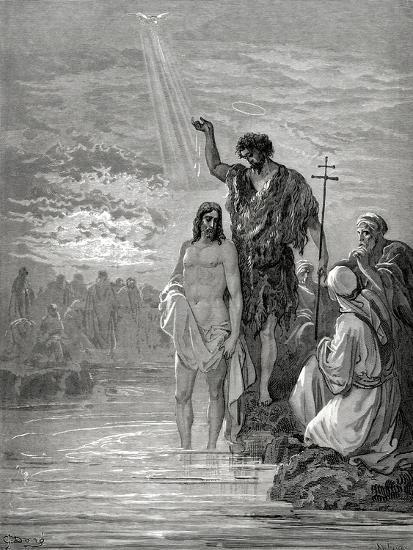 Baptism of Jesus--Giclee Print