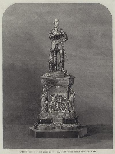 Baptismal Gift from the Queen to Her Grandchild Prince Albert Victor of Wales--Giclee Print
