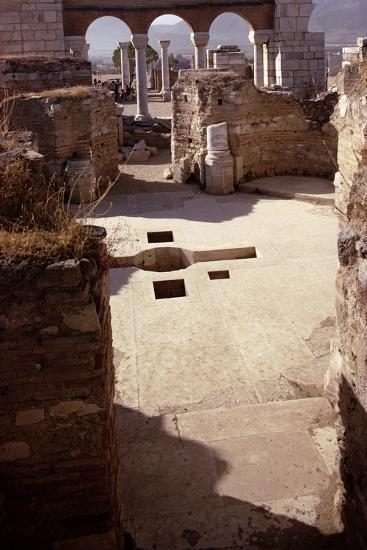 Baptistery, and View Towards the Nave, Probably 4th/5th Century--Photographic Print