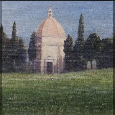 Baptistry, Tavarnelle, 2012-Lincoln Seligman-Giclee Print