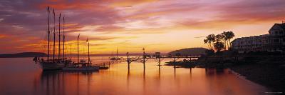 Bar Harbor, Mt. Desert Island, Maine, USA-Walter Bibikow-Photographic Print