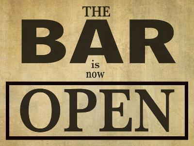 Bar Is Open-Grafittee Studios-Art Print