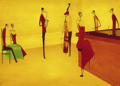Bar Jazz-Thierry Ona-Art Print
