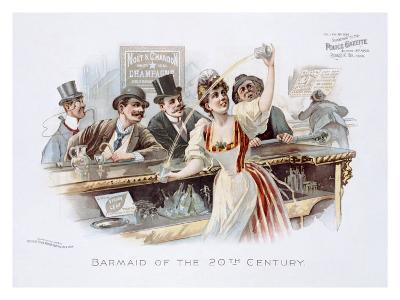 Bar Maid of the 20th Century--Giclee Print