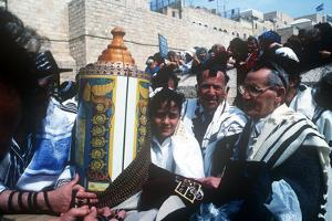 Bar Mitzvah, Wailing Wail, Jerusalem, Israel